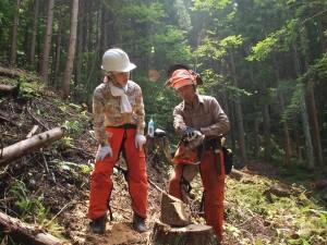 きこり祭20130811林業女子
