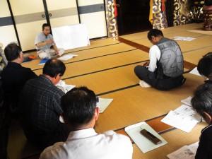 キコリ講座in石巻チェーンソー1