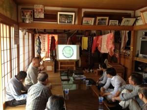 キコリ講座in石巻作業道座学2