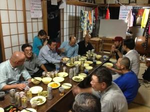 キコリ講座in石巻懇親会2