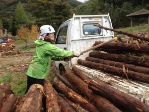 森の作業日1027-3